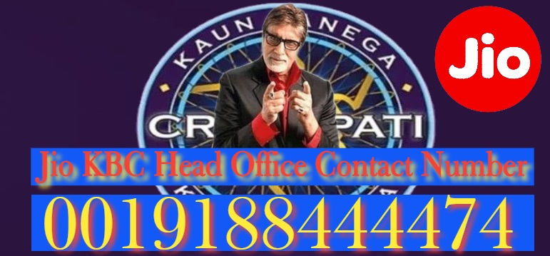 Jio KBC Head Office Contact Number