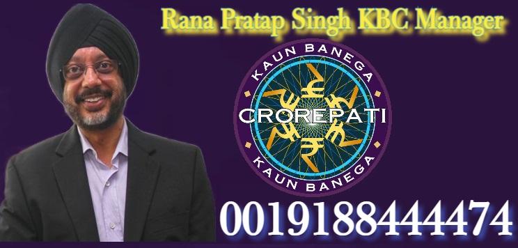 Rana Pratap Singh KBC Manager